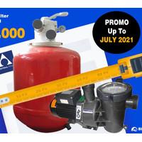 Pompa + Filter Kolam Astral Pool 3/4 Hp | PAKET Murah Bisa COD!