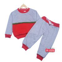Set Greyson Anak 1-6 Tahun / Baju Sweater & Jogger Anak Celana Panjang