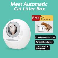 Xiaomi Meet Cat Litter Box Smart Automatic Self Cleaning Mi Cat Toilet