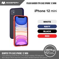 Mercury Goospery Peach Garden Bumper Hard Case Iphone 12 mini TPU