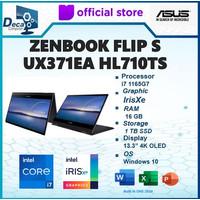 Asus Zenbook Flip S UX371EA HL710TS 2in1 Touch 4K OLED i7 1165G7 16GB