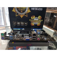 Motherboard MSI H81M-E33 Prosesor G3258 Memory 4GB Mobo Mainboard 1150
