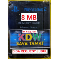 MEMORY PS2 SAVE TAMAT BY REQUEST