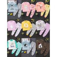 Baju Anak Import 1-7tahun / Piyama Anak Import Katun Halus 100%