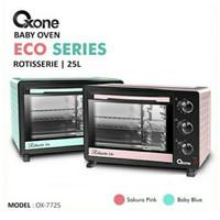 Oxone Ox7725 Eco Series Oven Rotisserie Baby Blue Sakura Pink 25 L New