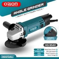Mesin Gerinda Tangan / Angle Grinder Orion - HG-954V (Variable Speed)