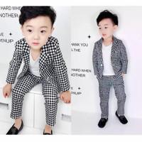 baju jas anak laki laki 3 in 1 import termurah