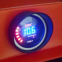 Voltmeter Digital 2 Autogauge Volt Meter Auto Gauge Smoke Display