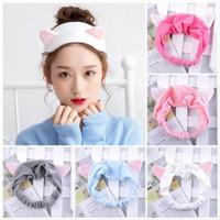 ❤Miss.Vinka❤ Bandana Korea Motif Kuping Kucing Hairband Korea Lucu