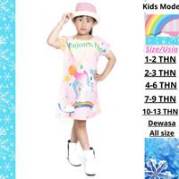 Baju Atasan Dress Daster Anak Perempuan Dan Wanita Dewasa Import