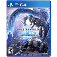 PASTI ORI!! PS4 MONSTER HUNTER WORLD ICEBORNE MASTER EDITION ENG