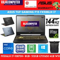 ASUS TUF GAMING F15 FX506LH i7-10870H 8GB 512GB GTX1650 4GB W10 144HZ - ram 8