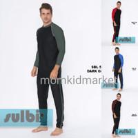 Baju Renang Pria Laki Laki Dewasa Celana Panjang Lengan Panjang SULBI