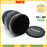 MUG LENSA / THERMOS STAINLESS / GELAS KAMERA/CANON ZOOMABLE LENS CUP