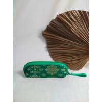 Tempat Pensil Songket Ekslusif Berbagai Macam Warna & Motif