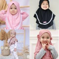 Jilbab Instan Anak (All size 0-3 Tahun)