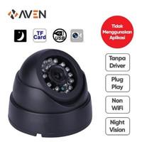 AVEN - Camera CCTV Indoor Memory Card Micro SD Tanpa DVR Camera Dome