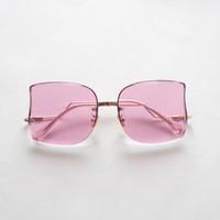 Netra Eyewear OF7358 kacamata wanita frameless