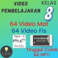 Video Belajar Matematika dan Fisika Kls 8 K13 - USB Type C