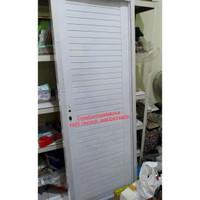 Pintu Kamar Mandi Almunium Type Full Panel (Full Set)