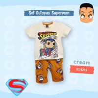 Octopus Kids Baju Anak Umur 1-9 Tahun/Set Anak/Pakaian Anak-Anak