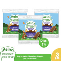 HEINZ Chocolate Biscotti 60 Gr - 3 pcs