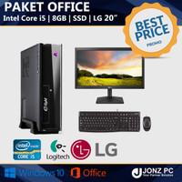 PC Rakitan | Core i5 | Paket Office Lengkap | Siap Pakai