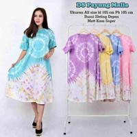 Daster kaos malia tali depan kaos cotton adem murah motif jumputan