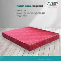 Avery Furnitures Kasur Busa D18 Jacquard Uk.90, 100, 120, 160, 180x200