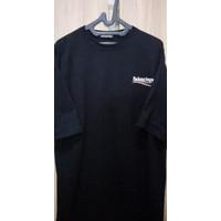 Balenciaga Logo Print Oversized Tshirt
