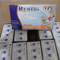 Sarung Tangan Latex Kemenkes Remedi Size M Isi 100pcs