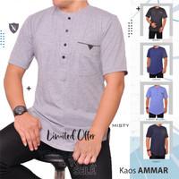 Baju Ammar/ Kaos Modern/ Baju Muslim/ Kurta/ Kaos Polos/ Baju Koko
