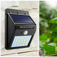 Lampu Taman Sensor Solar Tenaga Matahari Surya 20LED Outdoor