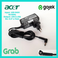 carjer adaptor charger laptop acer aspire one D255 D270 725 722 756
