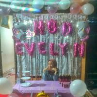 paket dekorasi ulang tahun anak tema unicorn