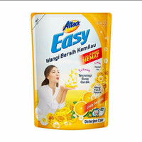 Kao attack easy deterjen cair lively energetic 1200ml