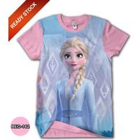 Kaos FROZEN 2 Disney Elsa Anna Baju Frozen Kartun TV Anak #REG-162
