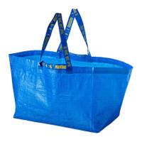 Kantong Tas Belanja Besar PLastik Troli Shopping Bag Cart