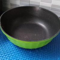 wok pan axara,tanpa tutup