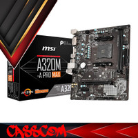 Motherboard MSI A320M-A Pro MAX (AM4, AMD Promontory A320, DDR4, USB3.