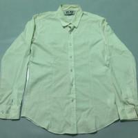 Kemeja cdg comme des garcons Plain White Shirt