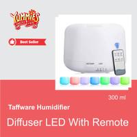 Taffware Diffuser Humidifier 7 warna LED Remote HUM24 Aroma Terapi