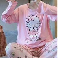 Piyama 684 Import Baju Tidur HK Panjang Anak Perempuan Remaja Wanita