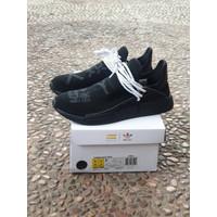 Sepatu ADIDAS NMD Human Race Black Guaranteed Store - Hitam, 40