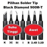 Mata Solder 900M Satuan Tip Head Awet Black Diamond for 936 936A 908S