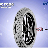 Ban Depan Motor HONDA PCX // IRC SCT-006 100/80 Ring 14 Tubel