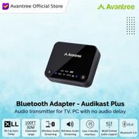 Avantree Audikast aptX Low Latency Bluetooth Audio Transmitter for TV