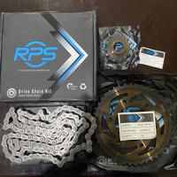 RPS Z Scorpio Gearset Gear Set Rantai Yamaha Motor 428HG 44T 15T 118L