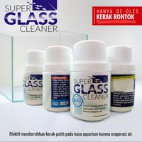 Pembersih kerak kaca aquarium SUPER GLASS CLEANER