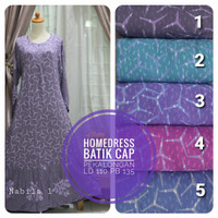 Gamis Batik Homedress Batik Punggawa Pekalongan
